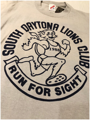 Vintage 1988 South Daytona Lion Club Run For Sigjt