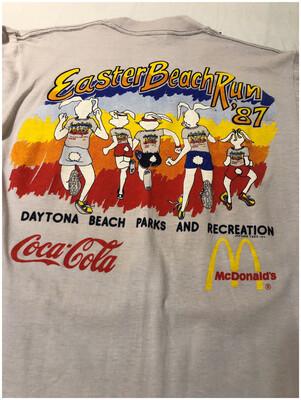 Vintage 1987 Easter Beach Run