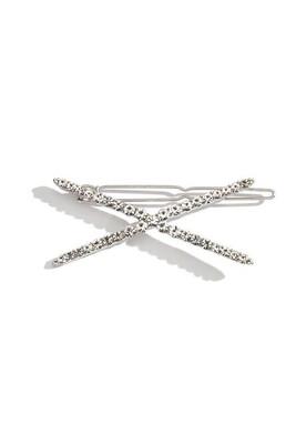 Crystal Crisscross Hair Clip