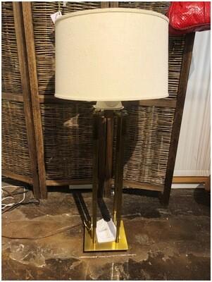 Mid Century Brass Lamp By Stiffel