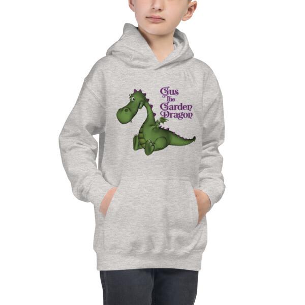 Kids Gus the Garden Dragon Hoodie