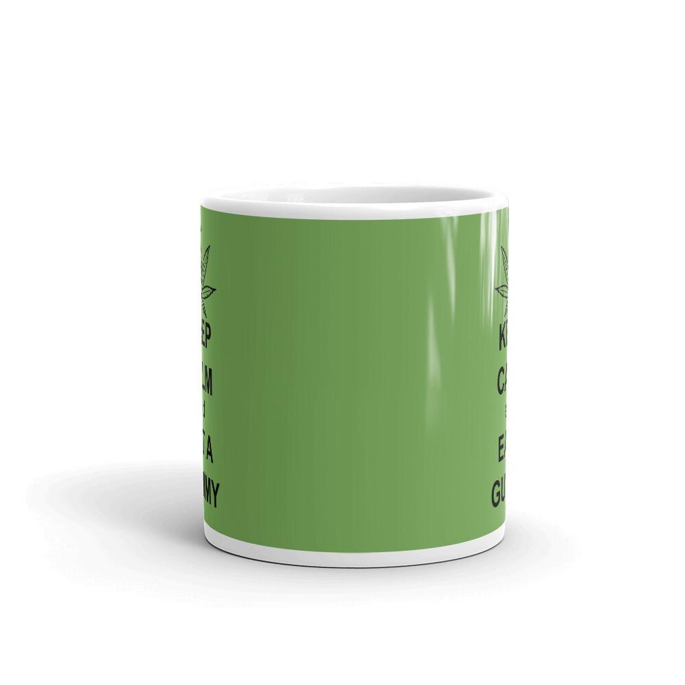 Keep Calm eat a Gummy Mug