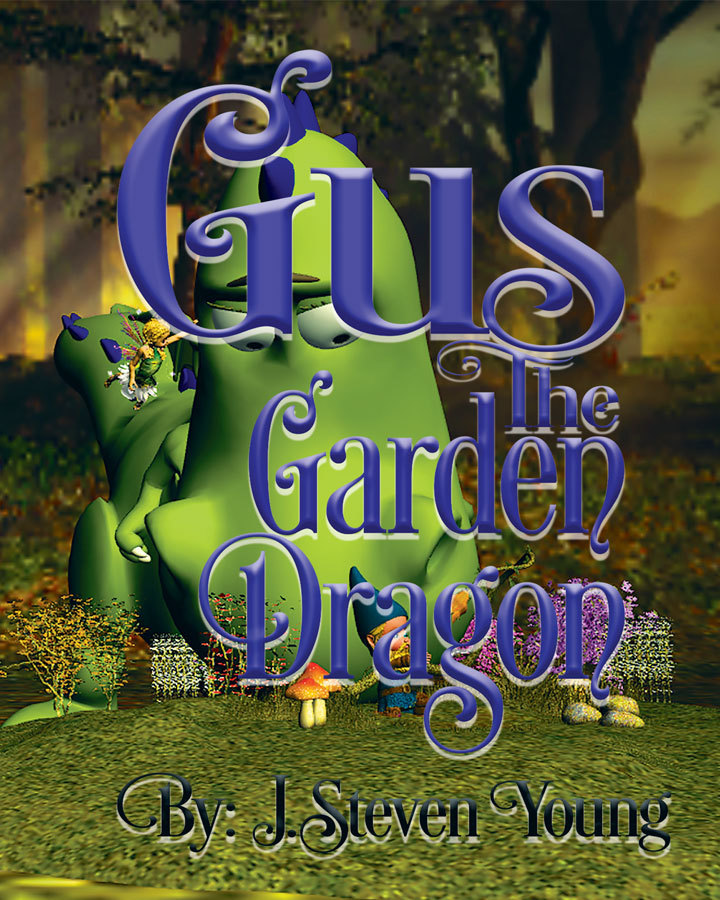 Gus the Garden Dragon (signed) 978-1943924165
