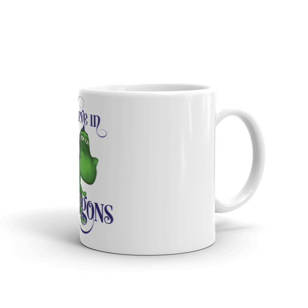 I Believe in Gus the Dragon Mug 000096709911