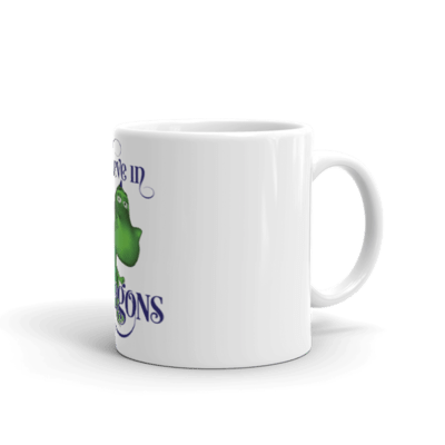 I Believe in Gus the Dragon Mug