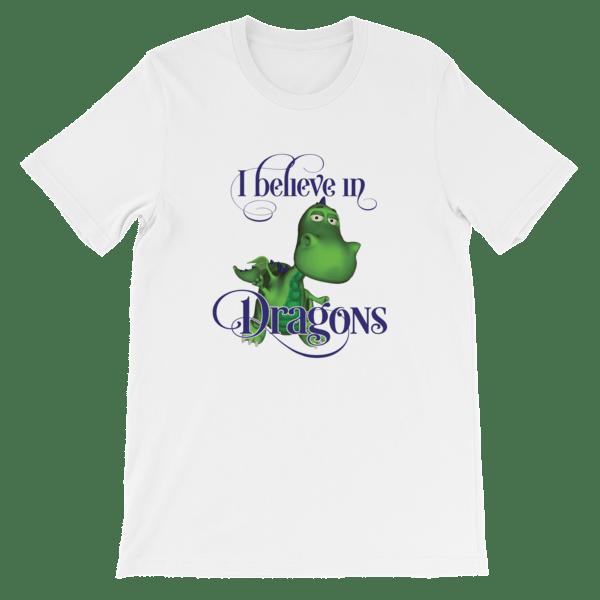 Gus the Garden Dragon Short-Sleeve Unisex T-Shirt 00036