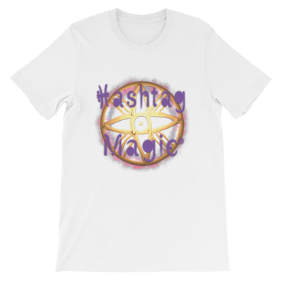 Hashtag Magic® Logo Short-Sleeve Unisex T-Shirt