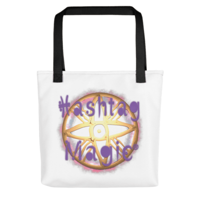 Hashtag Magic Tote bag
