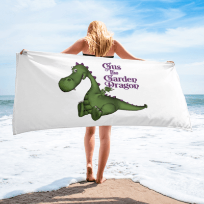 Gus the Garden Dragon Towel