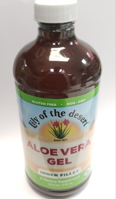 Lily Of The Desert Aloe Vera Gel Dietary Supplement, 16 Oz