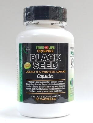 Tree of Life Organic Black Seed Capsules
