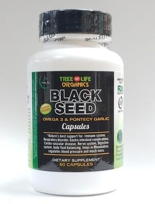 Tree of Life Organic Black Seed Capsules