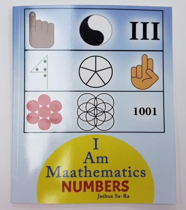 I Am Maathematics Numbers by Jashua Sa-Ra (@earthiopian)