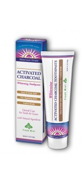 Heritage Store Activated Charcoal Toothpaste - 5.1oz