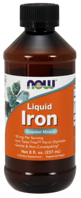 Liquid Iron Essential Mineral 18-mg