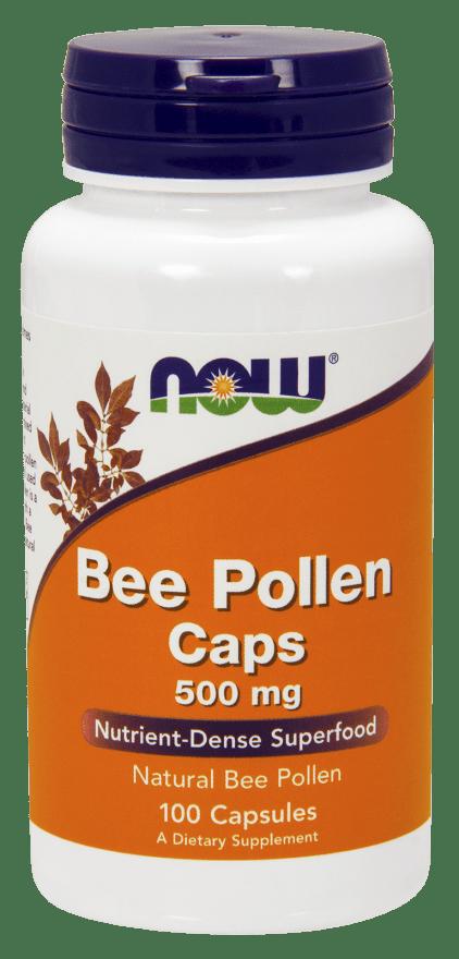 Bee Pollen 500 mg Capsules
