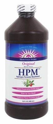 Heritage Store HPM Hydrogen Peroxide Mouthwash