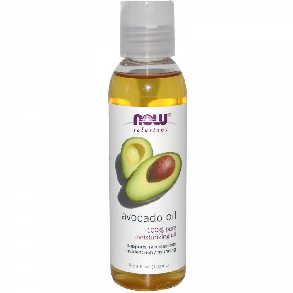 Now Solutions- Avocado Oil 100% Pure Moisturizing Oil 4 oz.