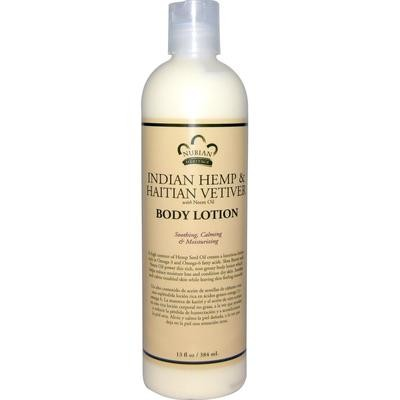 Nubian Heritage Indian Hemp Body Lotion (13 oz)
