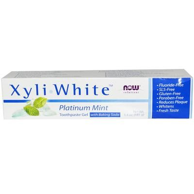 Xyliwhite™ Platinum Mint Toothpaste Gel w/Baking Soda - 6.4 oz.