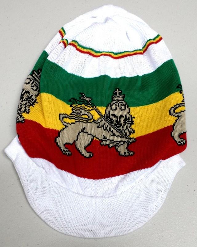 White Lion of Judah Hat