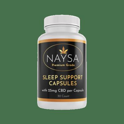 Sleep support capsules