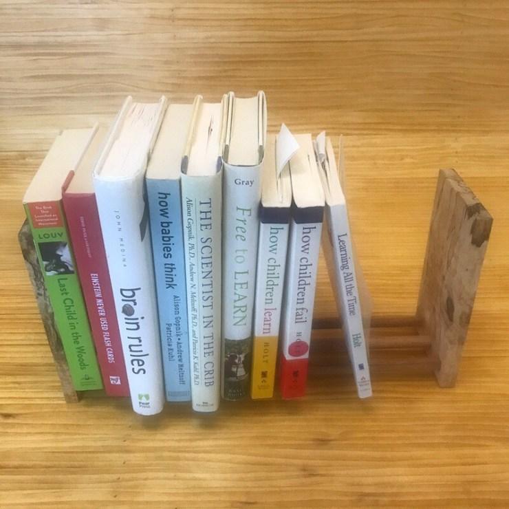 Wooden Book Rack #0003