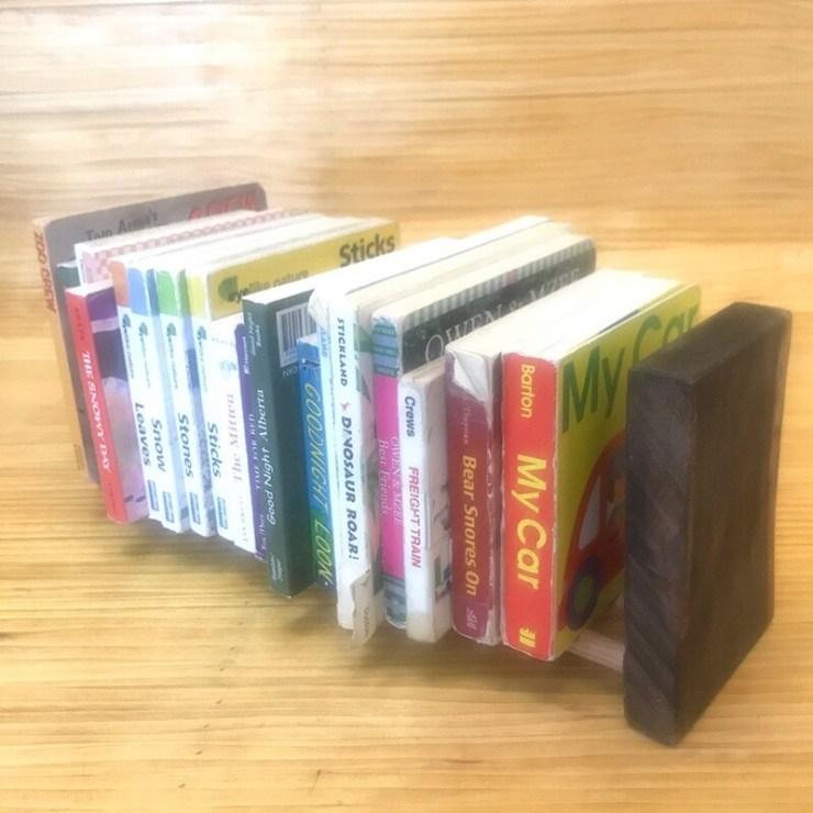 Wooden Book Rack #0004