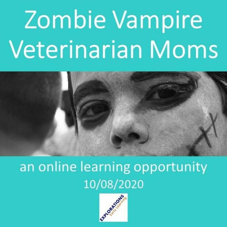 Zombie Vampire Veterinarian Moms