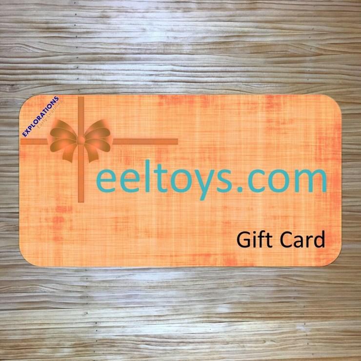 eeltoys.com Gift Card