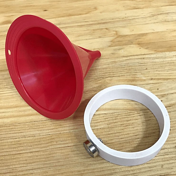 Magno-Funnel-Ring