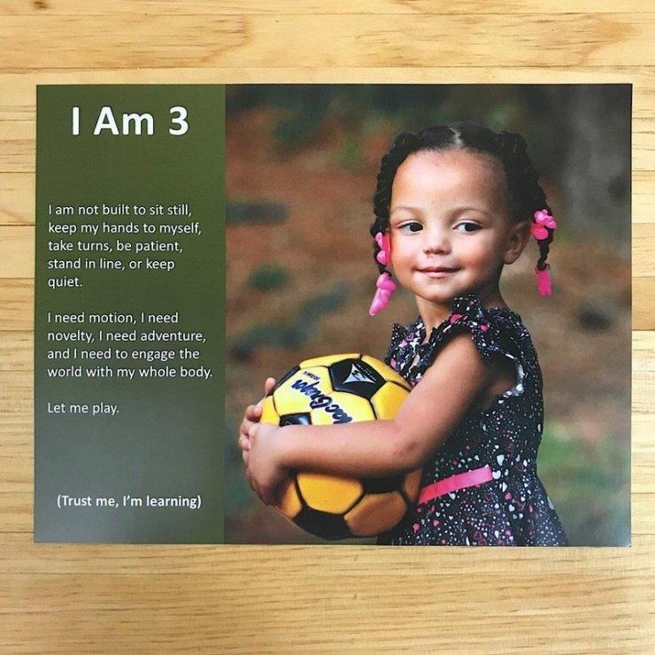I Am Three 2.0 Poster