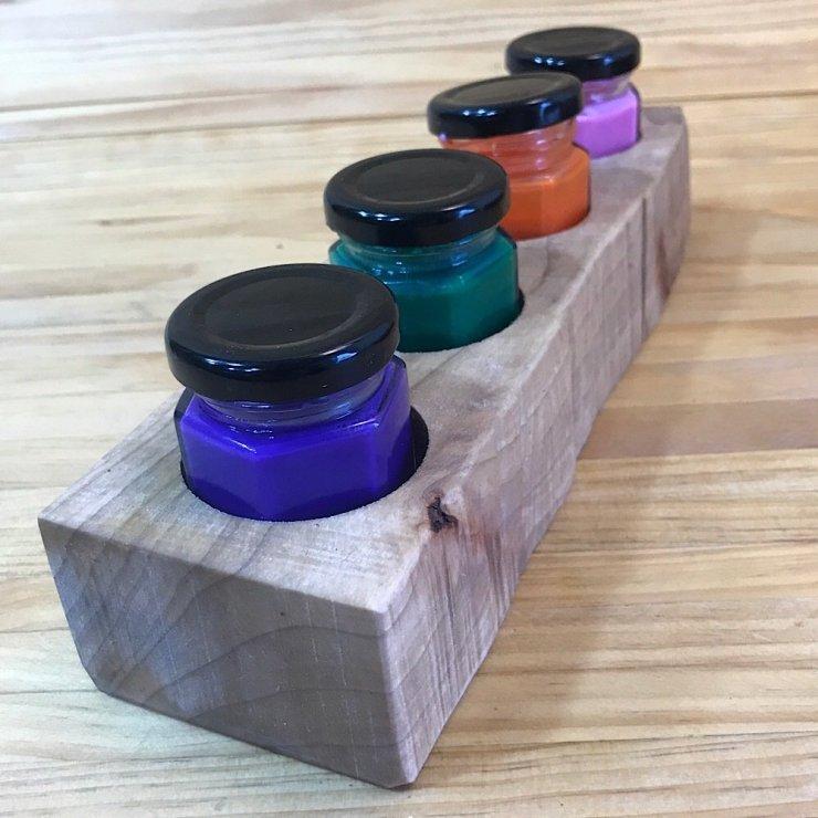 Paint Pot Holder--Straight