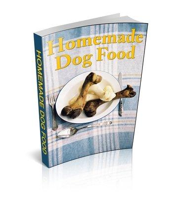 Healthy Homemade Dog  Food Ebook