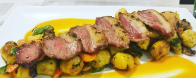 Gnocchi - Duck a l'Orange (feeds 2 people)
