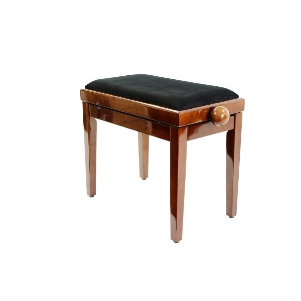Legato - Adjustable Piano Stool - Polished Walnut 00053