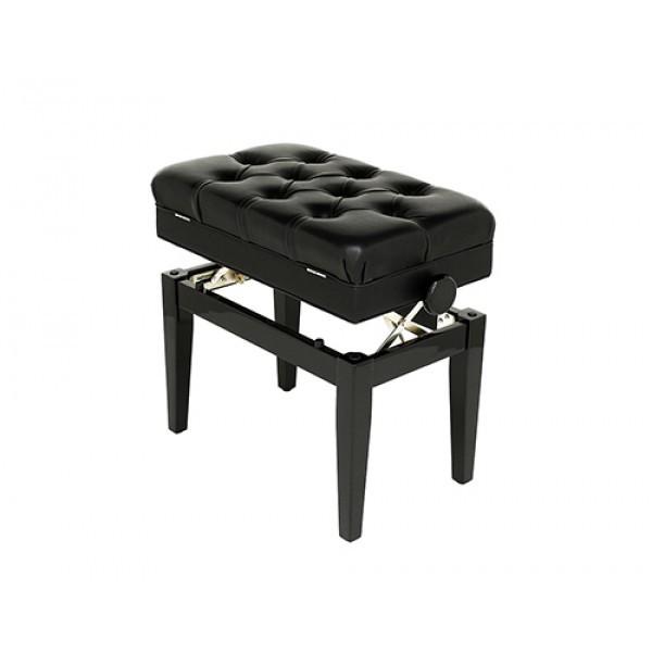 Symphony - Adjustable Piano Stool - Polished Ebony