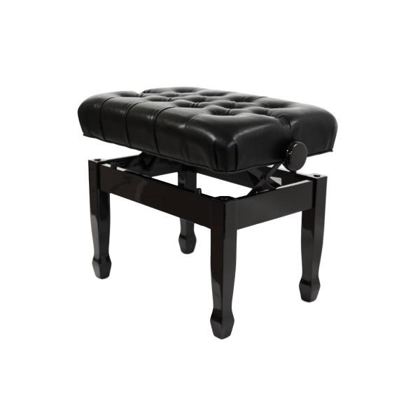 Cadenza - Adjustable Piano Stool - Polished Ebony