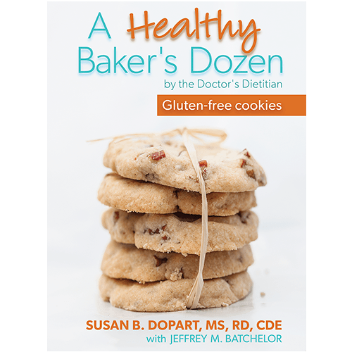 A Healthy Baker's Dozen by Susan B. Dopart, MS, RD, CDE [softcover, paperback] SD003_1