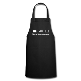 Stay-at-home-dude kitchen apron