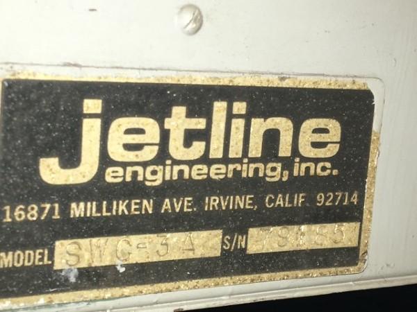 1 – USED 14' JETLINE LWS-168 MIG SEAM WELDER