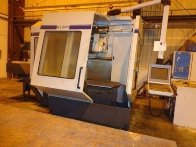 1 – USED KLOPP UFB 800 CNC VERTICAL MACHINING CENTER