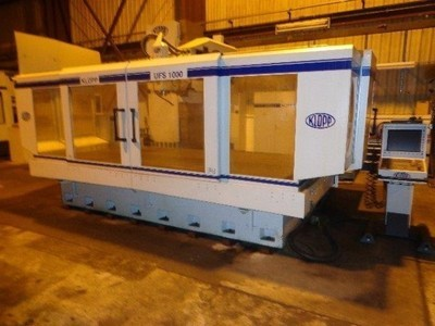 2 – USED KLOPP UFS 1000 CNC FLOOR TYPE UNIVERSAL MILLING AND BORING SYSTEMS WITH HEIDENHAIN CNC CONTROLS