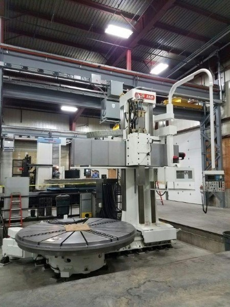 """1 – USED 157"""" OM-TMS2 30-40 VERTICAL BORING MILL"""
