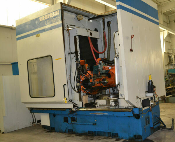 """1 - USED 40"""" LIEBHERR 6-AXIS CNC GEAR HOBBER"""