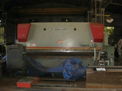 1 - USED 320 TON X 14' ACCURPRESS CNC HYDRAULIC BRAKE