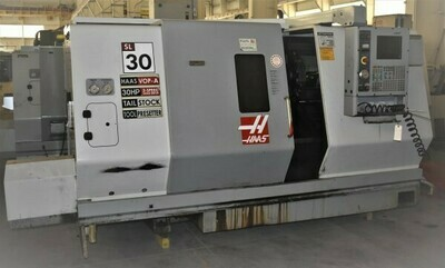 """1 – USED 30"""" X 39"""" HAAS CNC TURNING CENTER"""