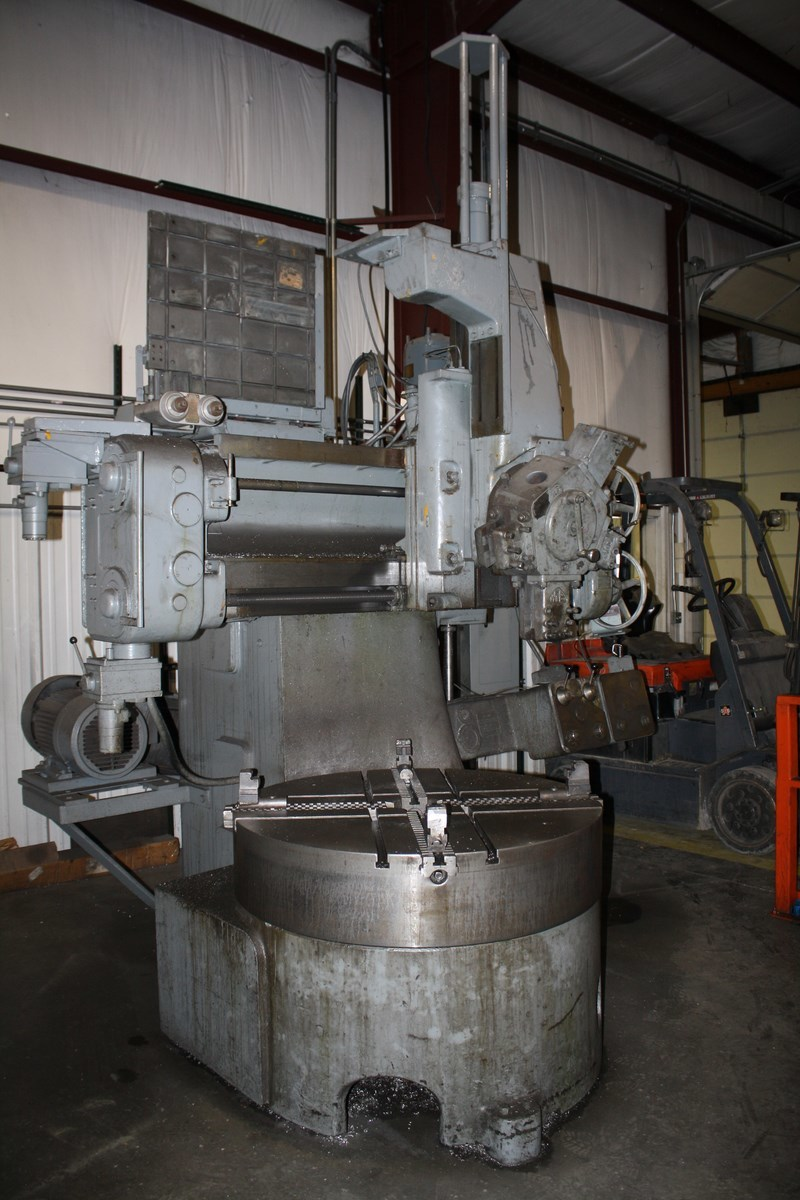 1 – USED WEBSTER & BENNETT DH-48 VERTICAL BORING MILL C-3847