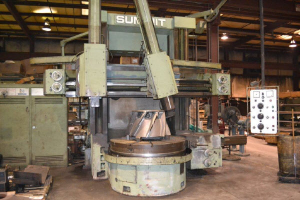 "1 - USED 59"" SUMMIT VERTICAL BORING MILL C-3488"