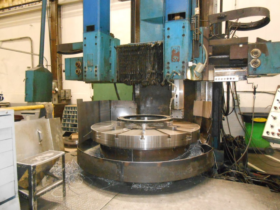 1 – USED SCHIESS VERTICAL BORING MILL TYPE 20 DKE 180 C-4025